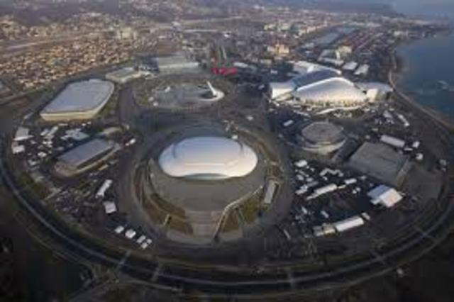 Olympic Park Built as the main Venue for the games