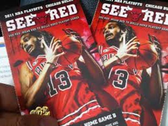 Go to a Chicago Bulls game.