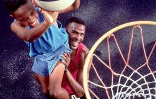 Teach kids to play basketball.
