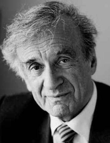 Elie Wiesel's father passed away