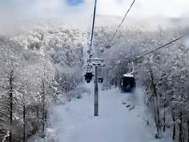 The Ski Town Krasnaya Polyana finishes construction