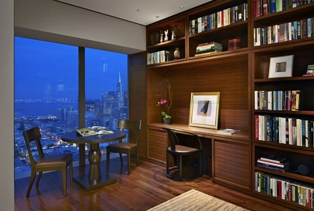 Build a fancy study into my apartment