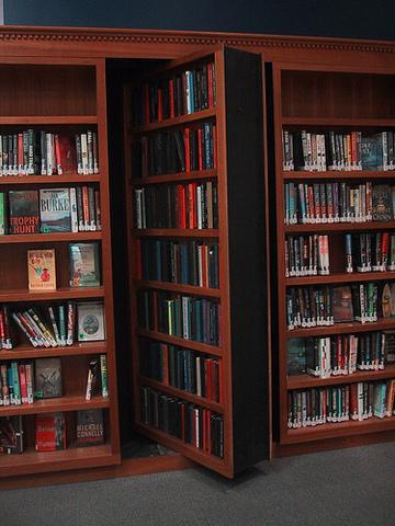 Build a secret door into my study