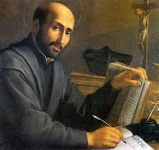 Ignatius of Loyola founded the Jesuit order