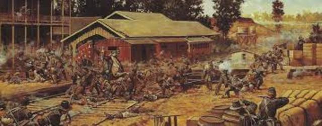 Raid, destruction of railroads
