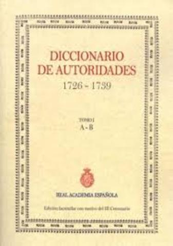Diccionario Autoridades