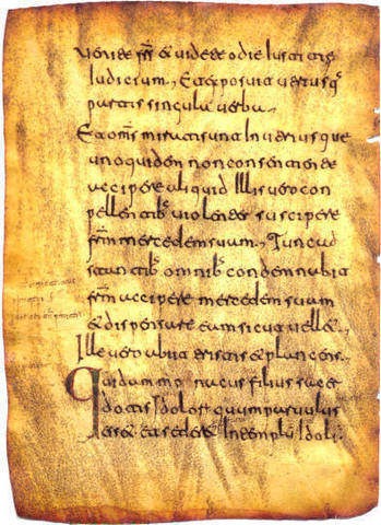 Glosas Silenses (900 DC)