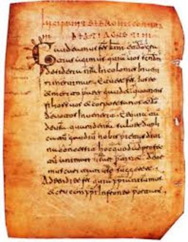 Burgos acoge las primeras palabras escritas en castellano (1000DC)