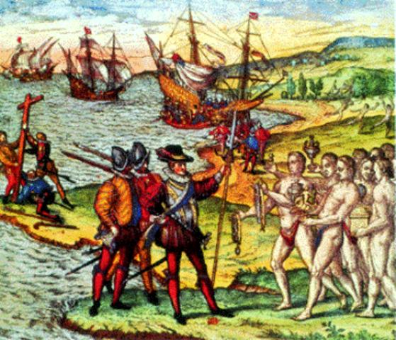 Llegada del español a América 1492