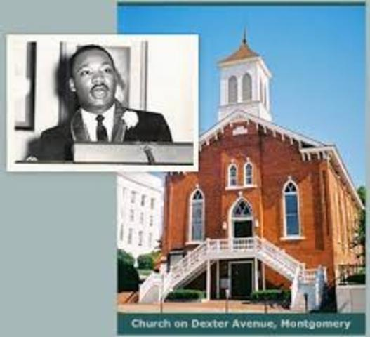 King became a minister in his father's church
