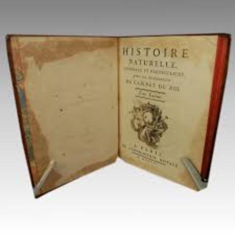 Principal obra de Buffon (Historia Natural)