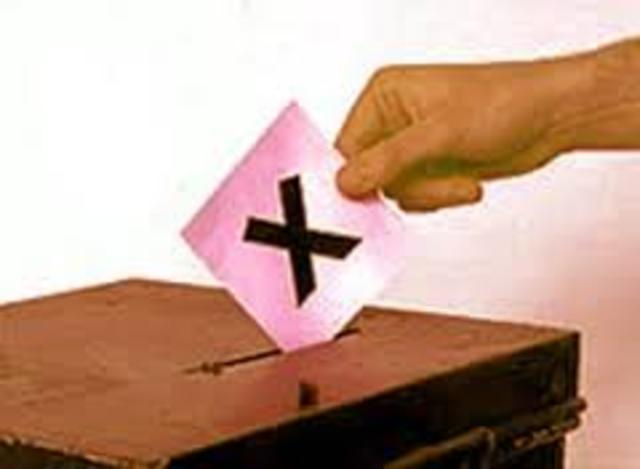 Federal Elections act is changed
