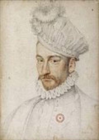Birth of Charles IX