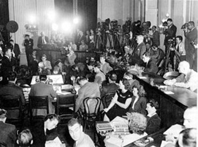 HUAC (House Un-American Activities Committee formed)