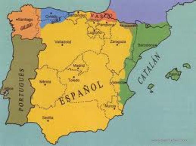 División dialectal de España
