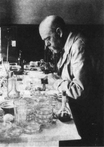 Descubrimiento de la etiologia de la tuberculosis