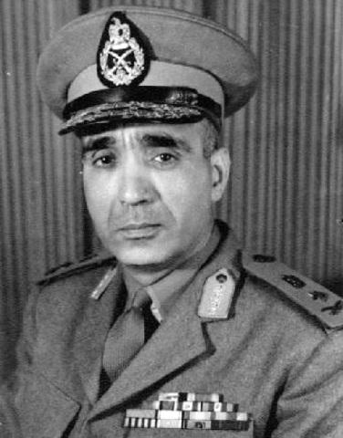 Gen. Riad given command of Jordainian Front
