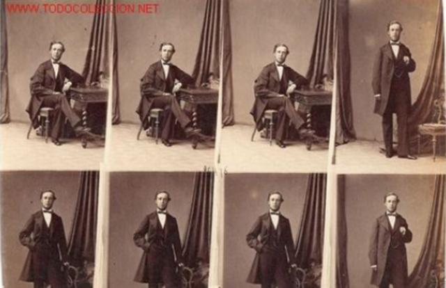 Disdéri. First professional portraits.