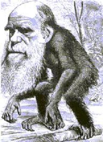 Comienzo de los estudios de Darwin