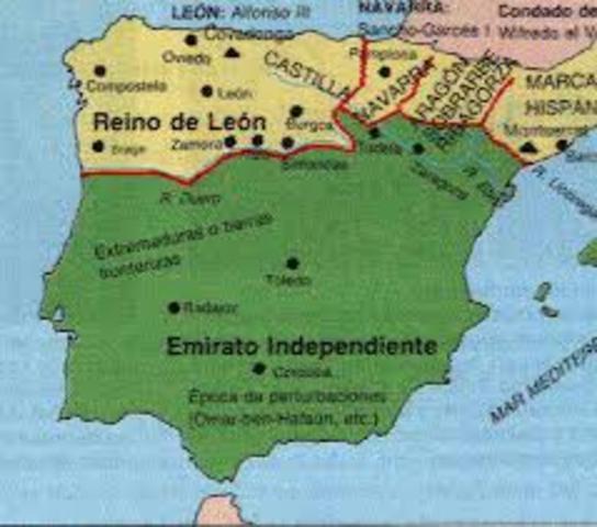 La Reconquista  siglo Decimo X