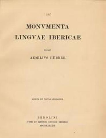 Monumenta Linguae Ibericae
