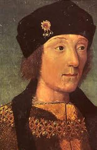 Enrique VII Inglaterra año 1532