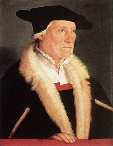 Sebastian Münster Alemania año 1540