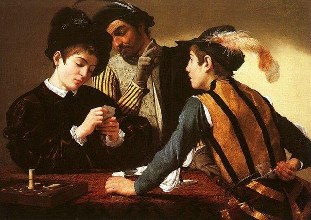 Apuestas y juegos de azar año 1654