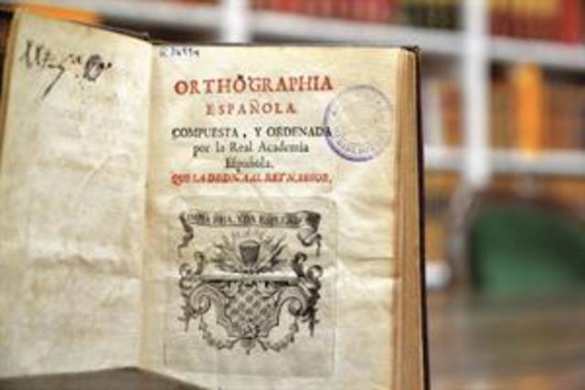 Orthographia, Real Academia Española