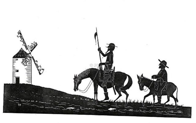 Publicación de Don Quijote de la Mancha