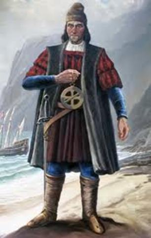 Vasco Da Gama lands in India
