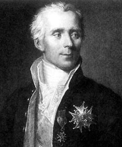Pierre Simon Laplace año 1812