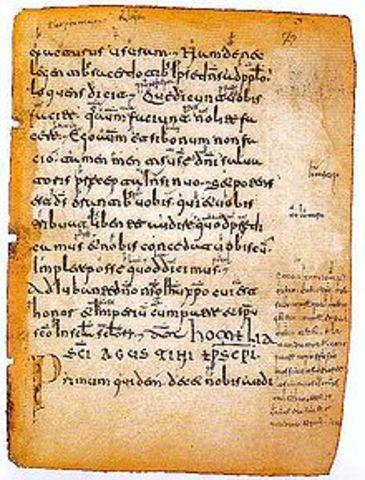 Primeros textos en castellano