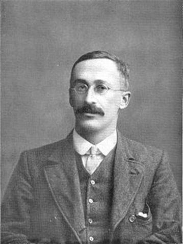 William Sealy Gosset año 1908