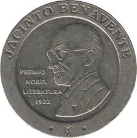 Premio Nobel de Literatura Jacinto Benavente