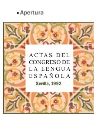 Congreso de la Lengua Española.