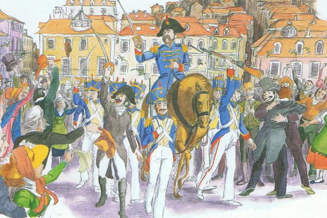 Revolta militar em Lisboa