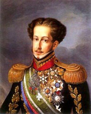 D. João VI nomeia D. Pedro regente