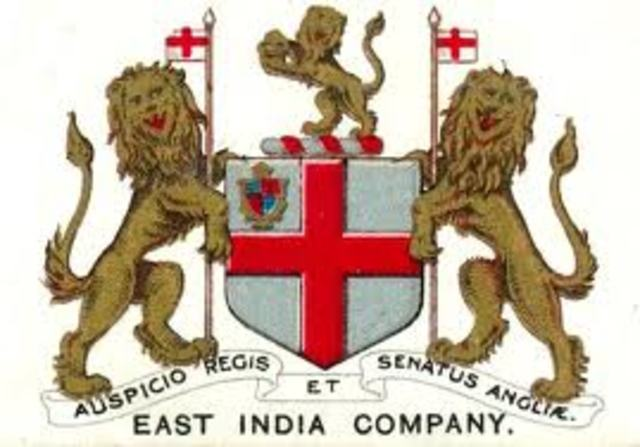 English East India Company is founded.