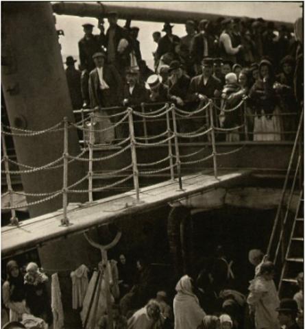 Alfred Stieglitz. Social criticism.