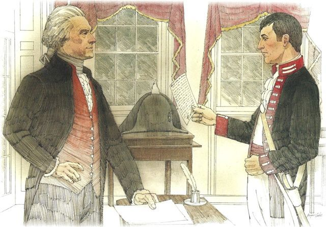 President Jefferson Appoints Lewis As His Personal Secretary