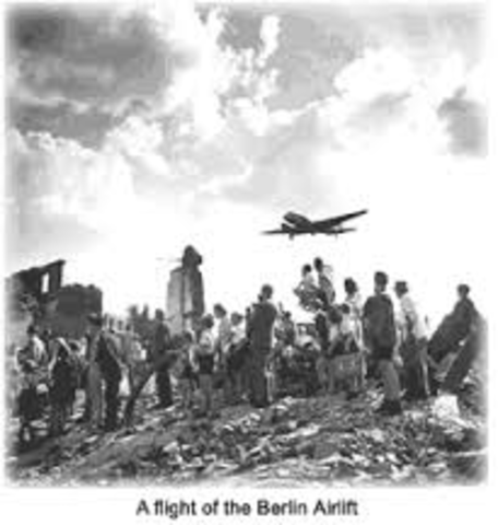 Berlin Airlift Began