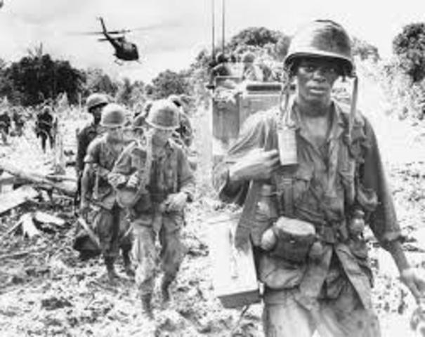 U.S. send troops to Vietnam