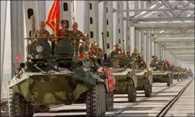 Soviets invade Afghanistan
