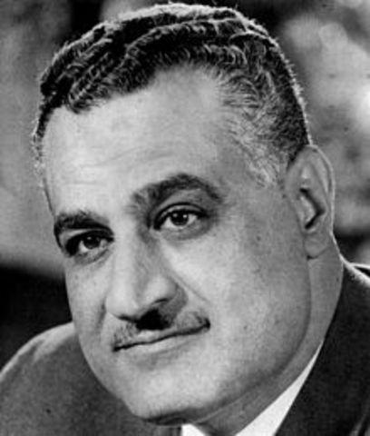 President Nasser speaks at the UN