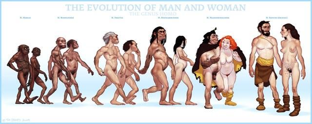 Aparición del Hombre en la Tierra