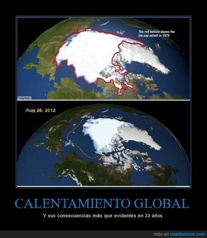 Polo norte se deslíe