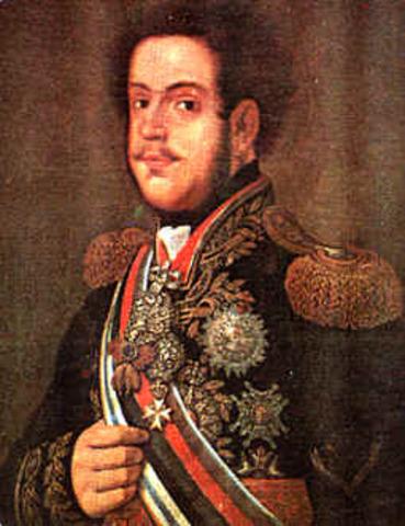 D. Pedro regente do Brasil.
