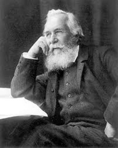Ernest H. Haeckel, (1834-1919)
