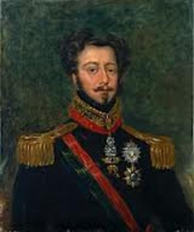 D. Pedro é reconhecido  rei de Portugal